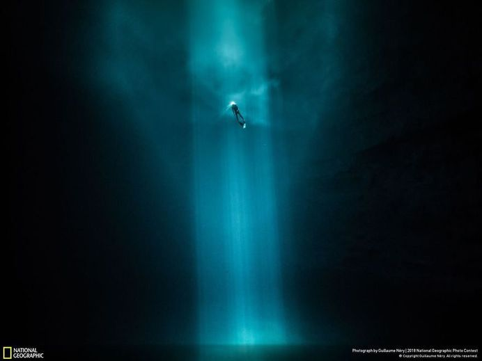 Discovering The Hidden Face Of Yucatan, Guillaume Nery