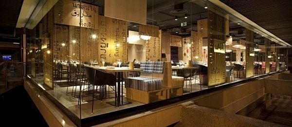 Asian interior design for LAH! Restaurant #interior #asia #design