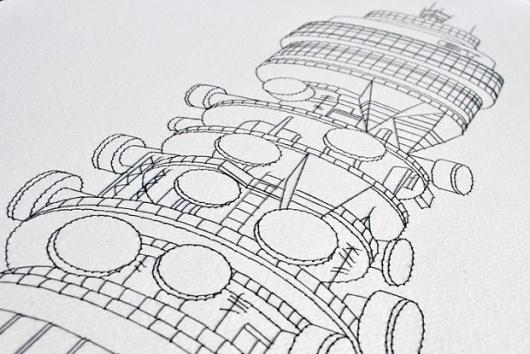 Tundra Blog | The blog of Studio Tundra. Creative inspiration mixed with the everyday. #stitching #illustration