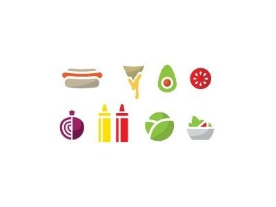 Food Icons #palta #icons #food #avocado