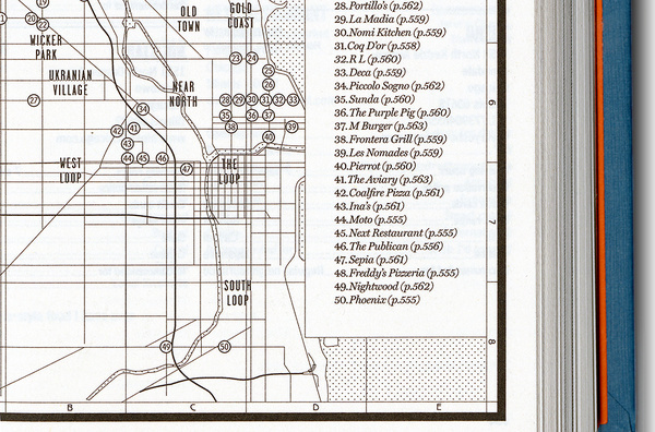 SI Special: Where Chefs Eat designed by Kobi Benezri #map