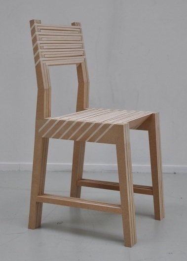The Triplette Chair of Paul Menand (In Action)   Yatzer™ #menand #triplette #chair #the #wood #paul