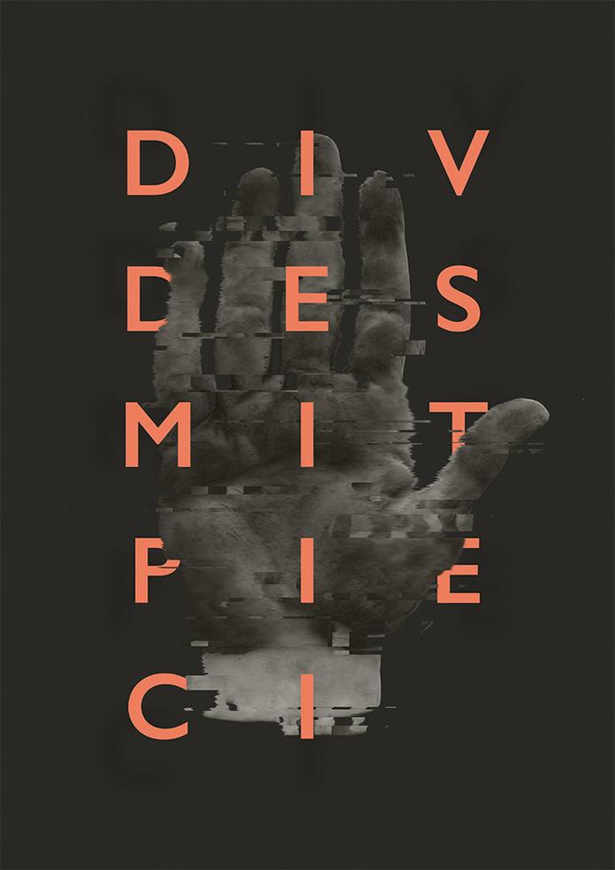 http://aparaats.tumblr.com #pink #birthday #glitch #poster #25 #art #grey #finger #hand #typography