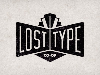 Dribbble - Lost Type Logo by Riley Cran #black #logo #type #lost #typography