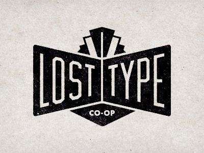 Dribbble - Lost Type Logo by Riley Cran