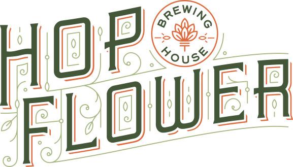 Hops, Flower, logo, design, hop flower, brewing, beer