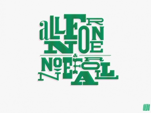 Typcut #pattern #typography
