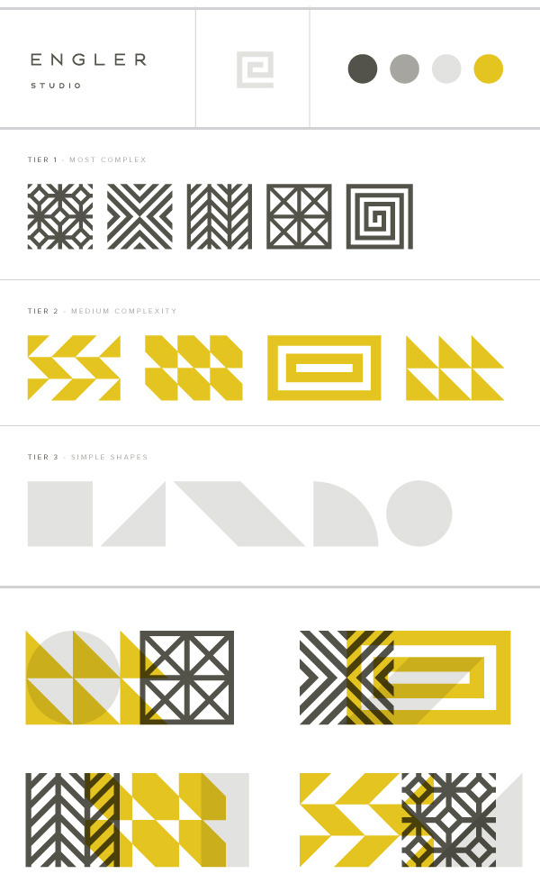 Eight Hour Day » Engler Studio Identity #elements #eighthourday #identity