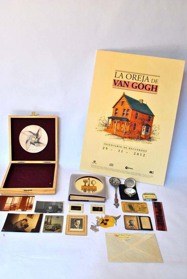 La Oreja de Van Gogh. edicion de lujo http://www.behance.net/gallery/La-Oreja-de-Van-Gogh-edicion-de-lujo/6118909 #typograhpy #gogh #van #design #retro #de #la #oreja