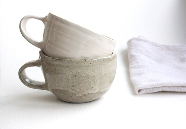 Clam Lab | Stoneware Coffee Mug #ceramic #cup