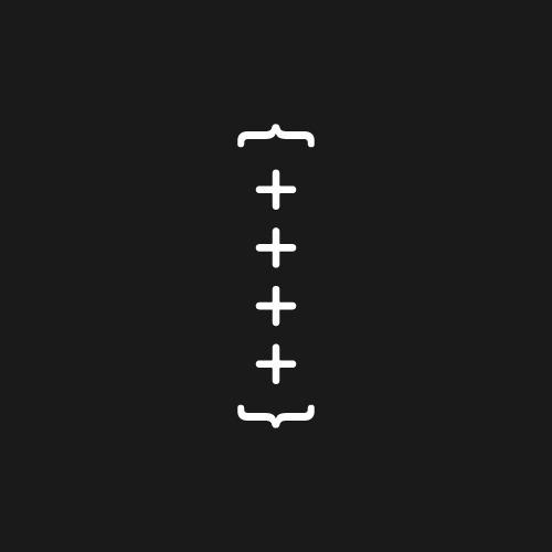 Part of an identity for Brace by Studio Jubilee — a fine art exhibition #black #simple #symbol #minimal #art #minimalist #typography