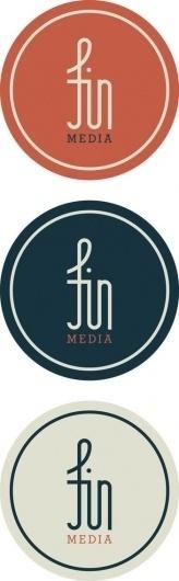 Fin Media on the Behance Network #logo #visual #identity #branding