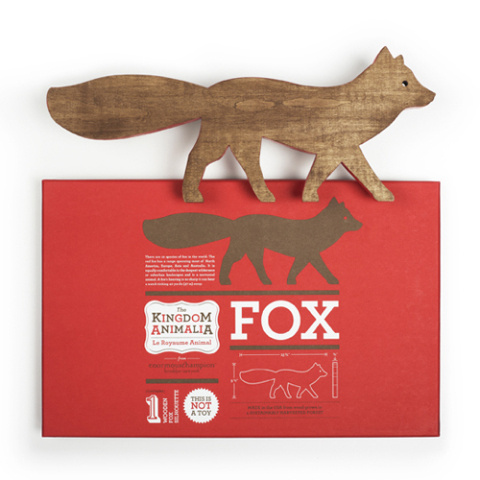 enormouschampion #packaging #design #graphic #fox