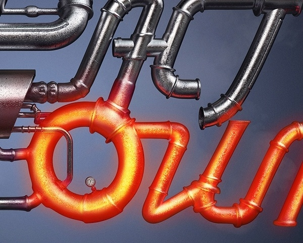 Fast Oil on the Behance Network #logo