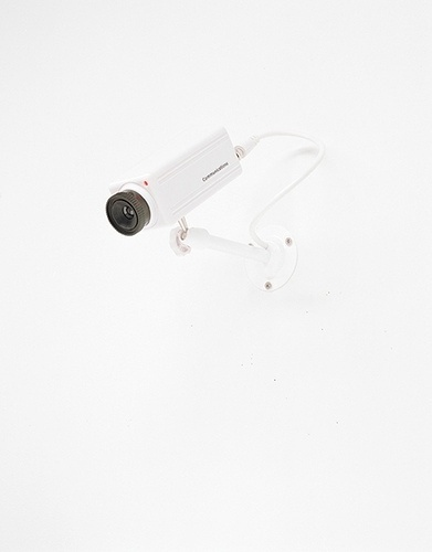 28.02.10_02 | Flickr - Photo Sharing! #security #white #camera #2001 #cctv