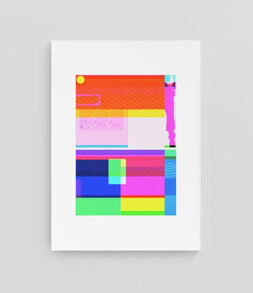 Photoshop bug©epokdesign #fluo #design #graphic #bug #geometric #photoshop #colors