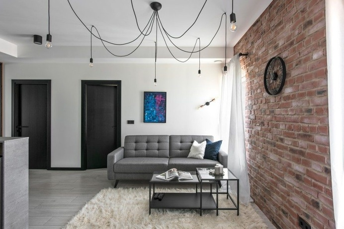 Industrial Modern Apartment in Vilnius, Lithuania 7