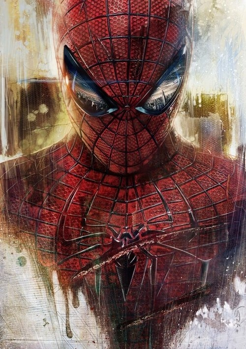 The amazing spider man by lshgsk #amazing #spider #digital #art #man