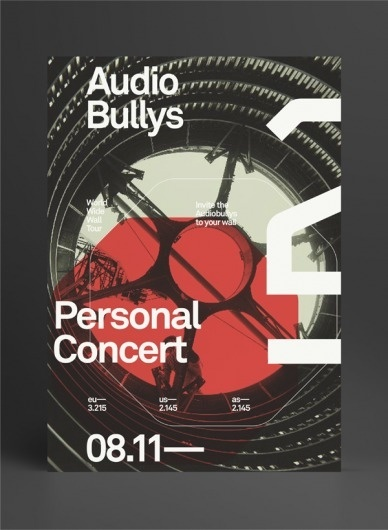 Audio Bullys #bullys #marius #design #graphic #roosendaal #poster #audio