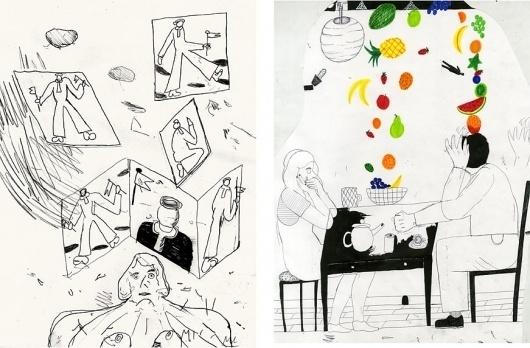 index : Michael Redmond #illustration #drawing