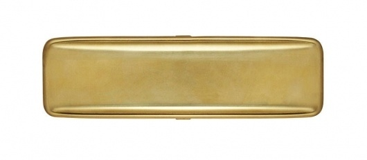 Japanese All-Brass Pen Case - Kaufmann Mercantile Store #case #pencil #brass #stationary