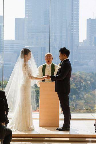 traditional wedding vows bride and groom ceremony
