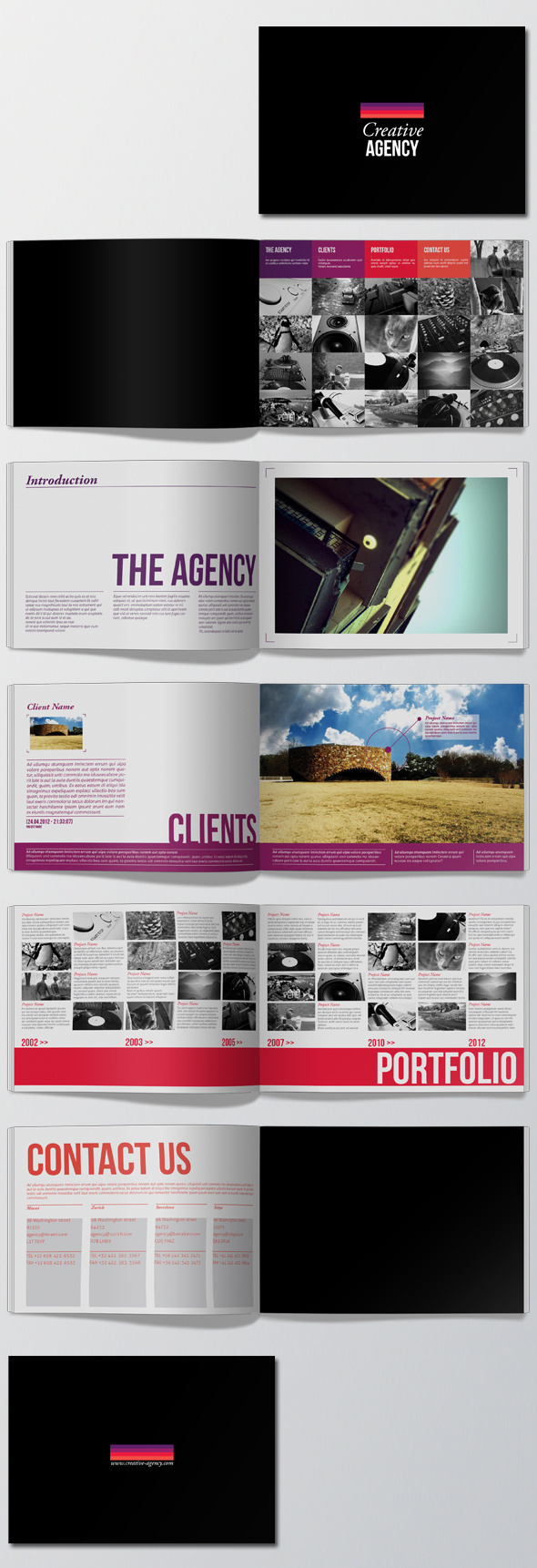A5 Portfolio Brochure #a5 #magazine