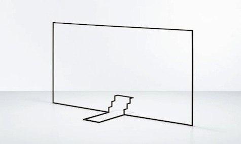 Ron Gilad : Burstoid #gilad #sculpture #perspective #art #ron