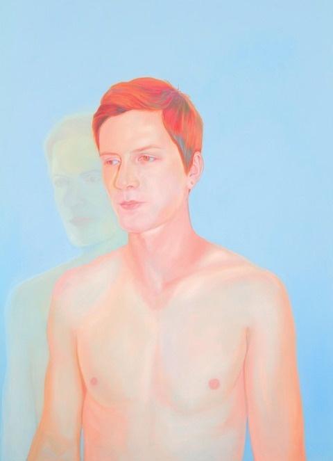 Jen Mann   PICDIT #painting #portrait #color #art