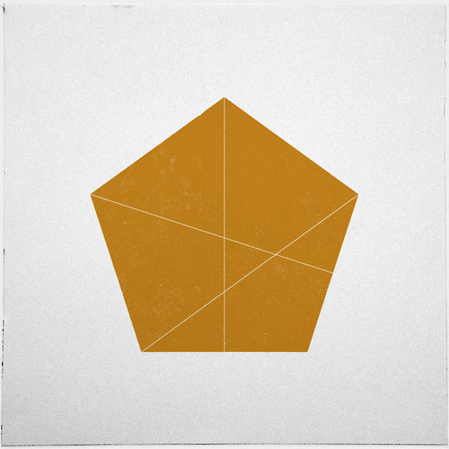 #245 Absent minded – Read more about my workflow at http://tint.de/geometry daily workflow – A new minimal geometric composition each da