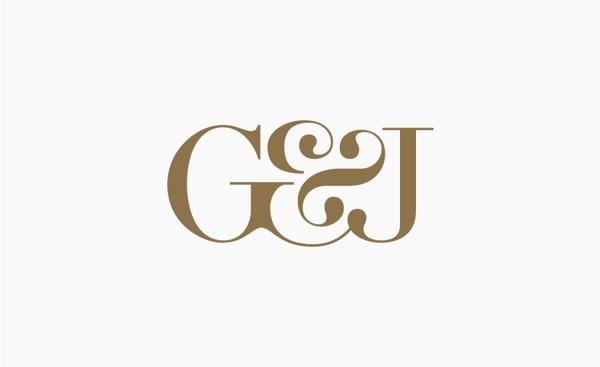 Gabriella&Jean wedding / 2013 on Behance #ampersand #monogram #typography