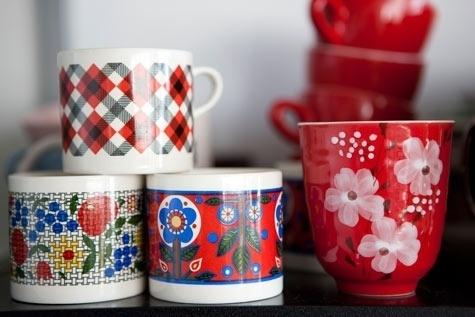 Design*Sponge » Blog Archive » sneak peek: kirra jamison + dane lovett #coffee #colors #mug #flowers