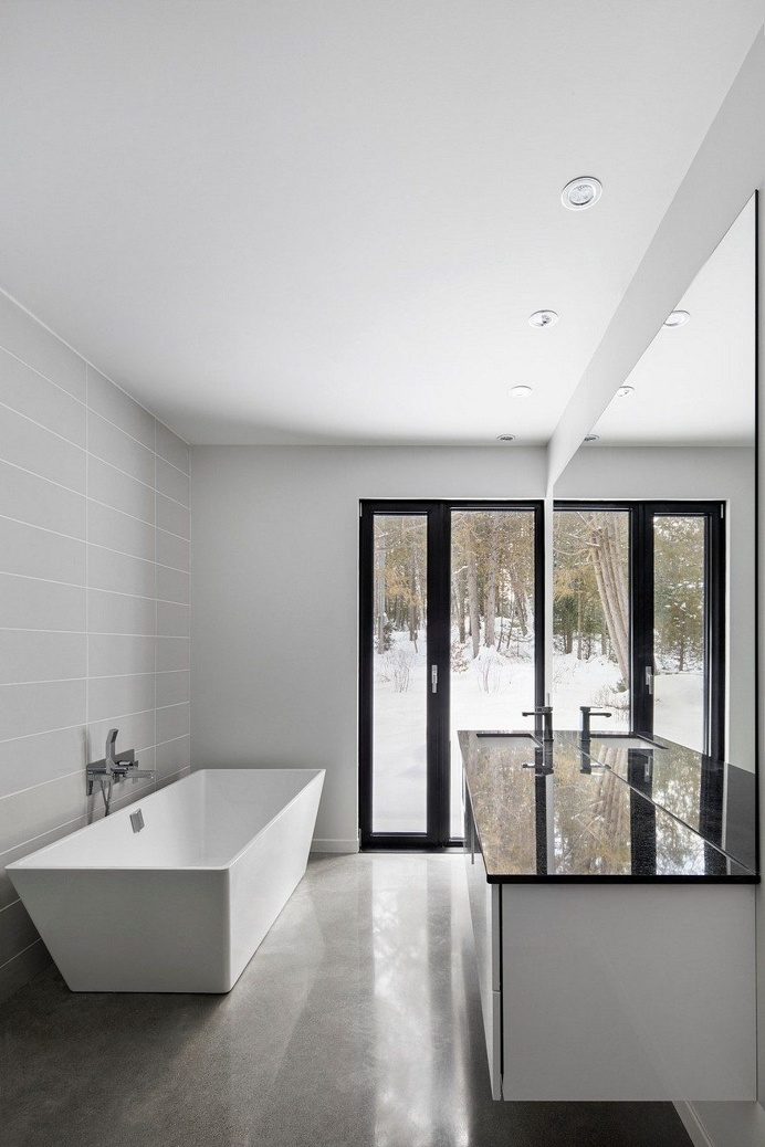 Vernacular Approach to Architectural Design House Lachance 9