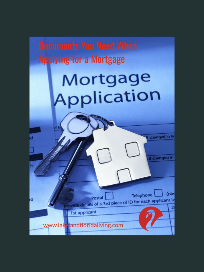 Documents Needed for Mortgage Application