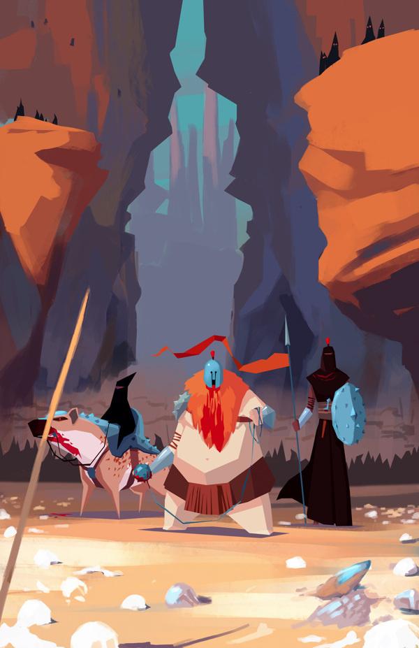 RTS game Visual Development on Behance #illustration #concept #art