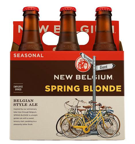 New Belgium Spring Blonde #packaging #beer