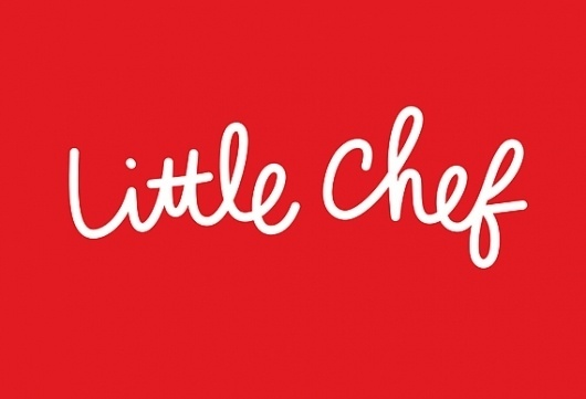 Creative Review - The new Little Chef #awesome #typography