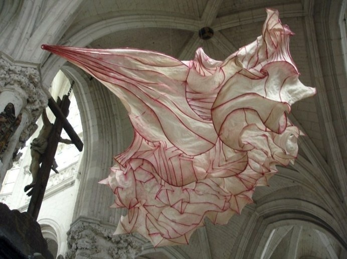 Paper sculpture by Peter Gentenaar