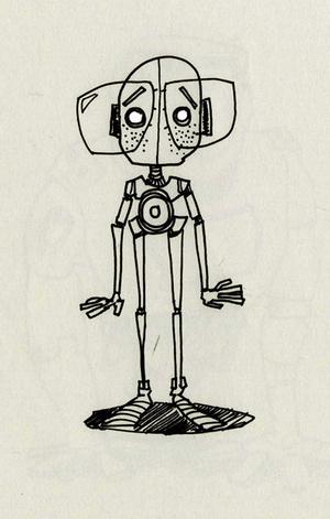 Brad Jendza Krop Creative Database #robots #jendza