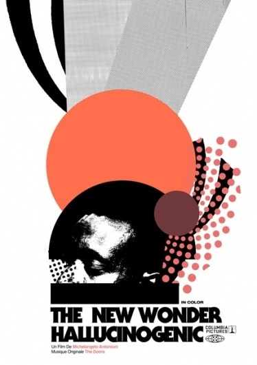 The New Wonder Hallucinogenic | Flickr - Photo Sharing! #design #poster