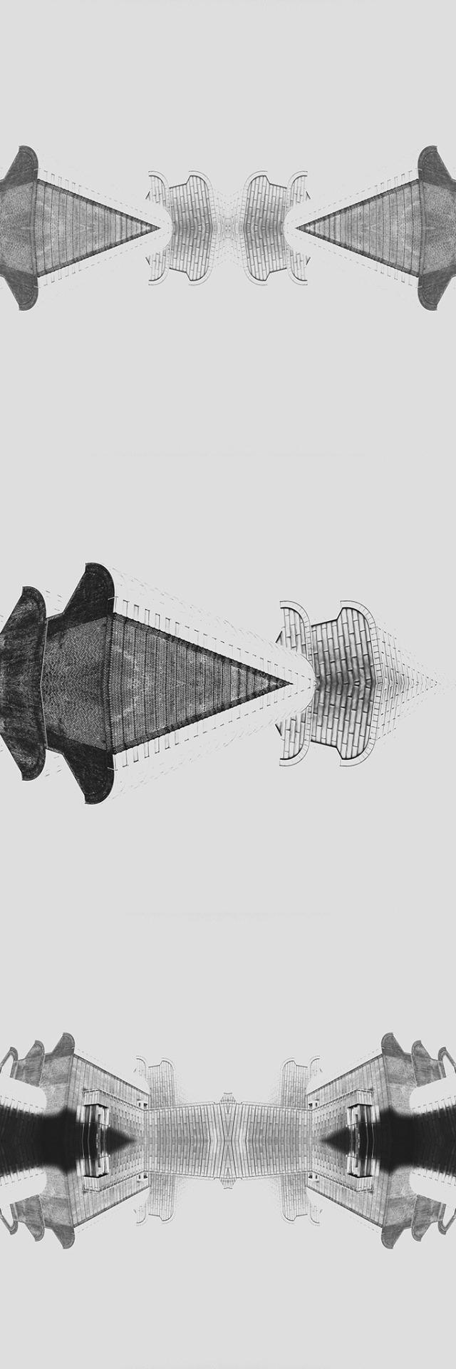 #triptychon_vertical (architecture: Museum Ludwig Cologne) © [ catrin mackowski ]