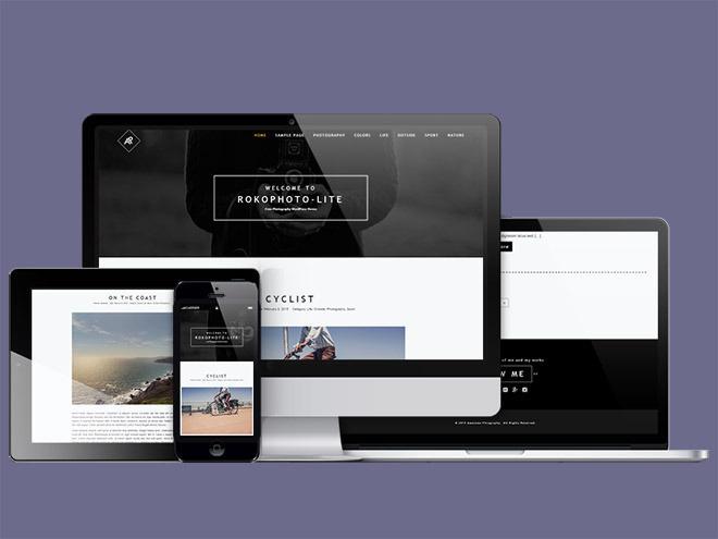 RokoPhoto Lite – Free Responsive Photography WordPress Theme