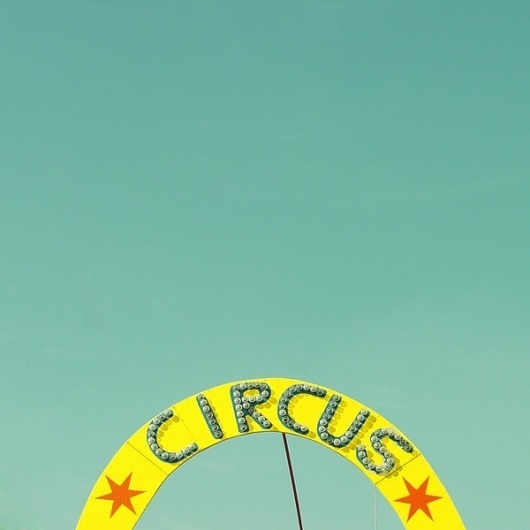 bumbumbum - art, design and advertising blog #photography #circus