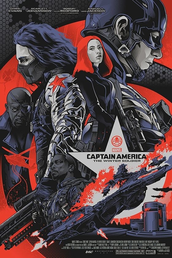 Captain America: Winter Soldier by Alexander Iaccarino
