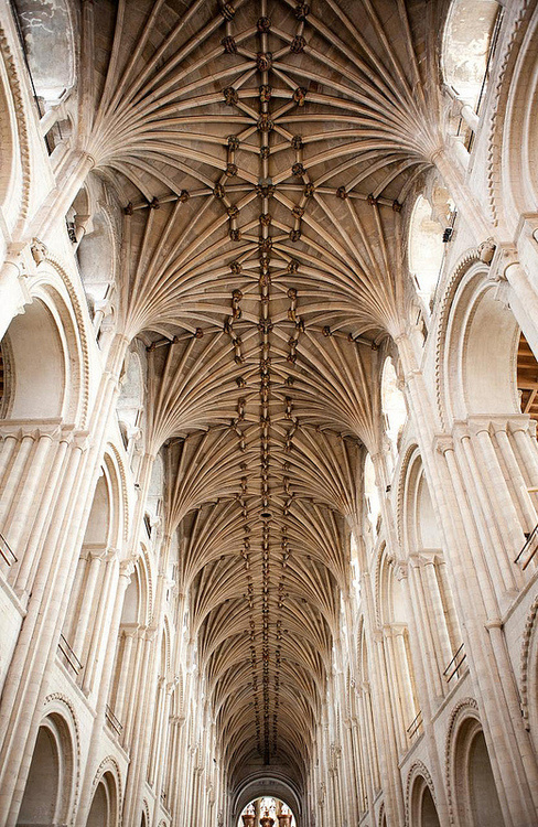 CJWHO ™ (Nave Vault by Holly Hayes Lierne vault of the...) #design #interiors #architecture #cathedral #england