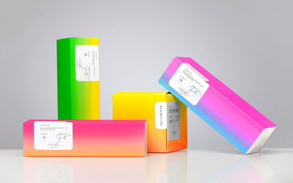Bermellón on Behance #packaging #colorful