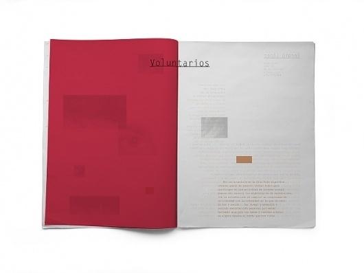 Guía de voluntariado de Cruz Roja - flipando en PANTONE #ataz #magazine #guide #redcross #andrea #student #social