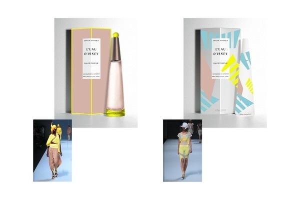 Issey Miyake by LaPetiteGrosse #packaging #parfum #colors #graphic