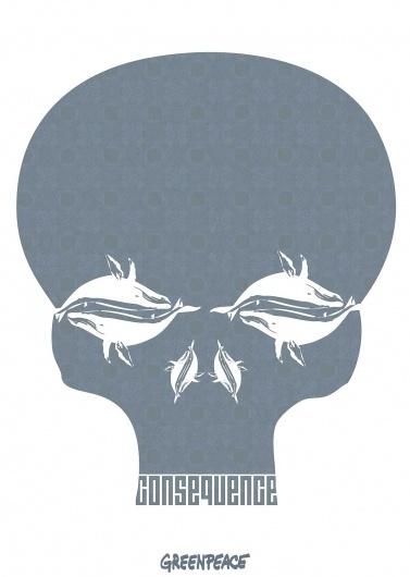 whale_skull2.jpg (1200×1685) #environmen #greenpeace #whale #jared #clark #green