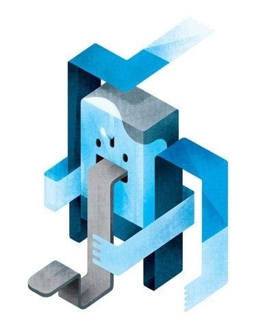 Homem borracha by Sen Hesse #digital #illustration #art